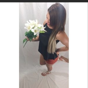 Tops - Whitney Fashion Tank Top In Black